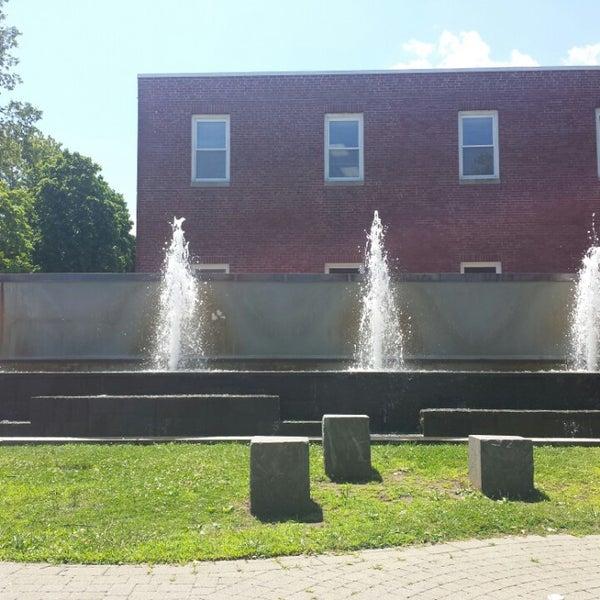 Photo taken at Danbury Public Library by Greg J. on 7/24/2014