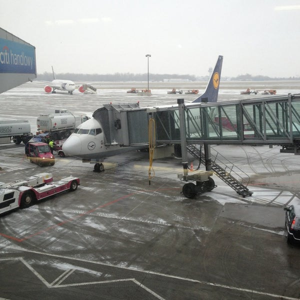 Photo taken at Gate 41 by Agata P. on 3/19/2013