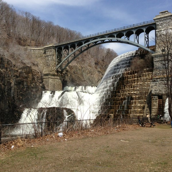 Photo taken at Croton Gorge Park by Jeff T. on 4/7/2013