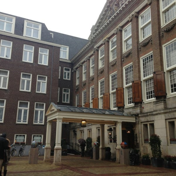 Photo taken at Sofitel Legend The Grand Amsterdam by Luke M. on 3/15/2013