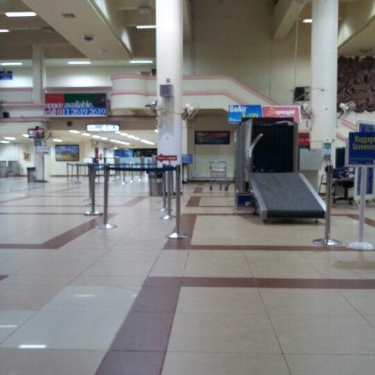 Photo taken at Dabolim Goa International Airport (GOI) by satinder r. on 9/2/2012