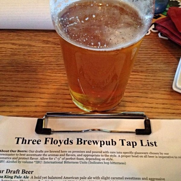 Photo taken at Three Floyds Brewery & Pub by Jermey H. on 3/7/2014