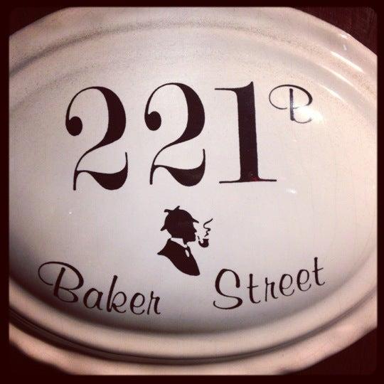 Photo taken at Baker Street Pub by Megan L. on 9/30/2012