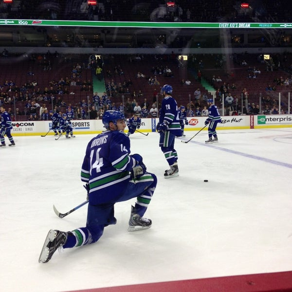 Photo taken at Rogers Arena by Scott S. on 4/7/2013