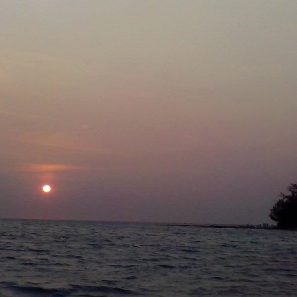 Photo taken at Pulau Pramuka by Raden G. on 9/6/2014