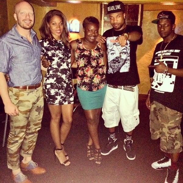 Photo taken at The Blue Monkey Lounge by Enchanta J. on 7/6/2014