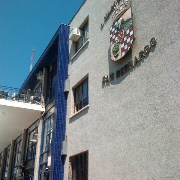 Photo taken at Municipalidad de San Bernardo by El Z. on 10/9/2013