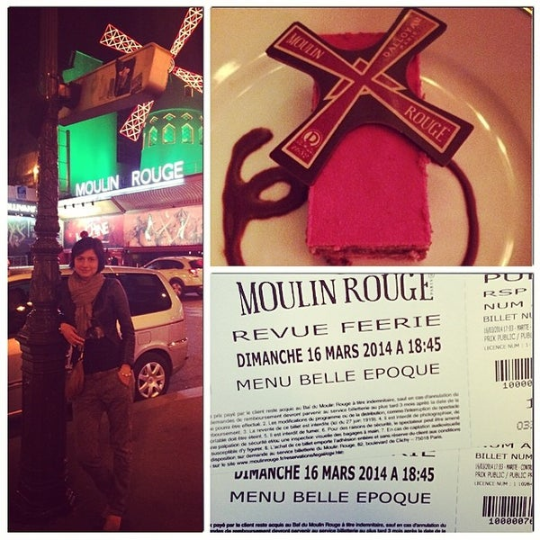 Photo taken at Moulin Rouge by Kate on 3/16/2014