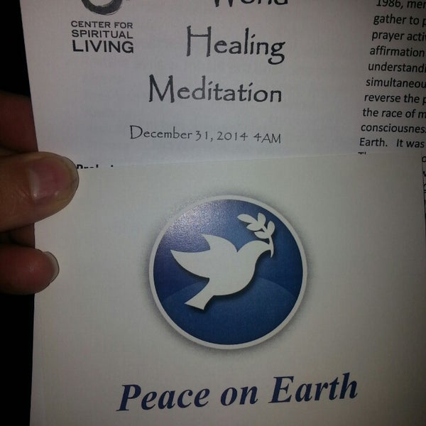 Photo taken at Center for Spiritual Living by Geoff M. on 12/31/2014