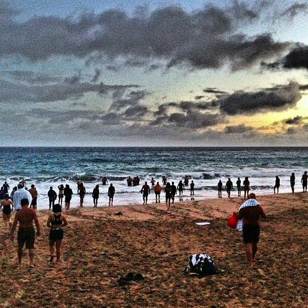 Photo taken at D.T. Fleming Beach Park by Erik B. on 3/29/2013