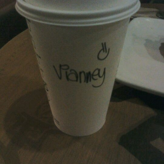 Photo taken at Starbucks by Vianey A. on 4/23/2012
