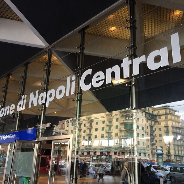 Photo taken at Stazione Napoli Centrale by Takahiro T. on 3/1/2014
