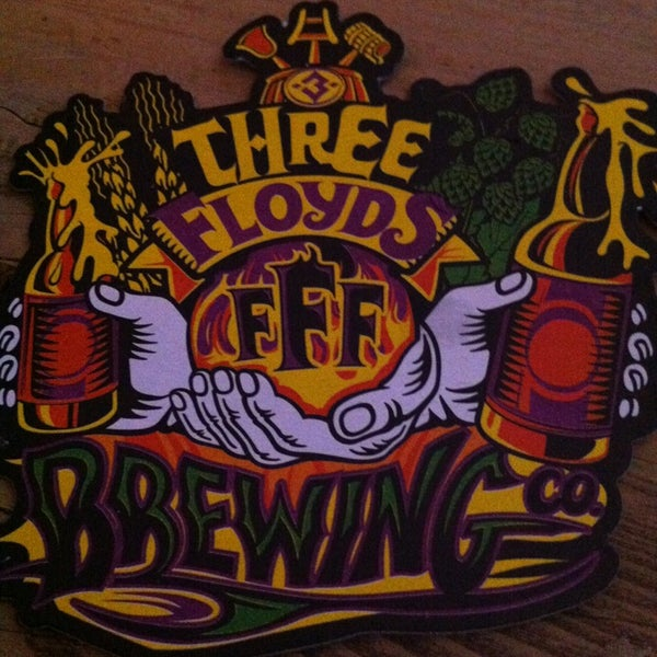 Photo taken at Three Floyds Brewery & Pub by Amy B. on 4/3/2013