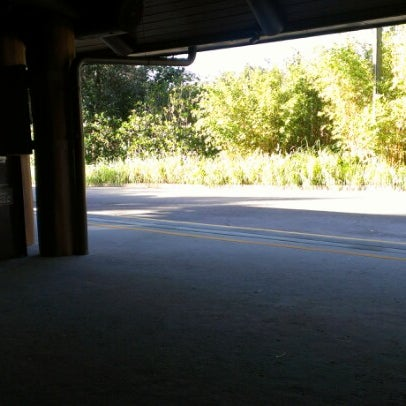 Photo taken at Jambo House Bus Stop by Wayne H. on 9/29/2012