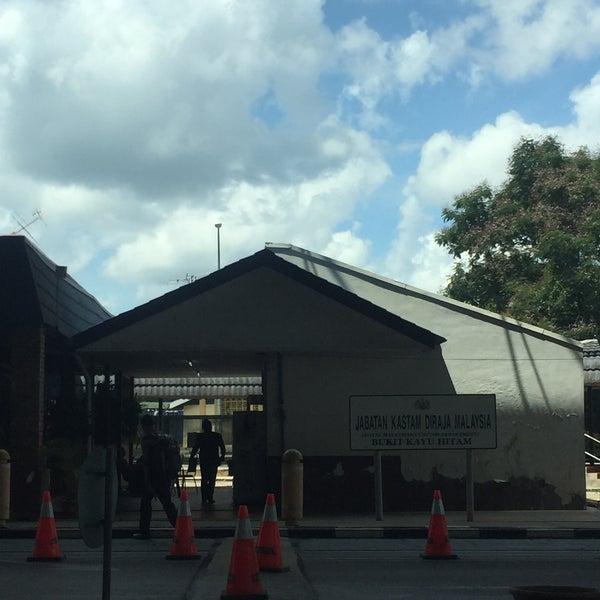 Photo taken at Bukit Kayu Hitam Immigration Complex by NurinsyirahRshd on 6/12/2016