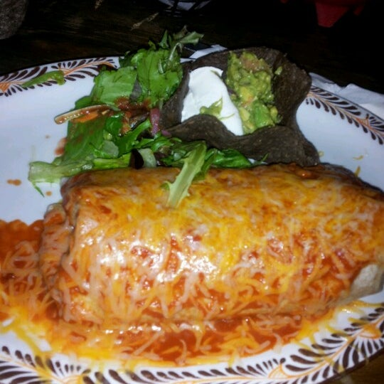 Photo taken at Burrito Bar & Kitchen by Serge F. on 10/6/2012