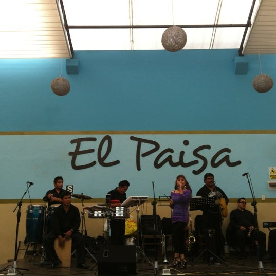 Photo taken at El Paisa by Miguel M. on 10/17/2012
