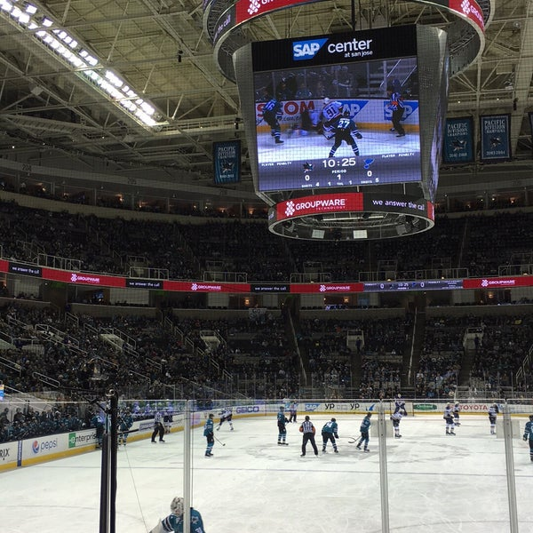 Photo taken at SAP Center at San Jose by Andy G. on 3/23/2016