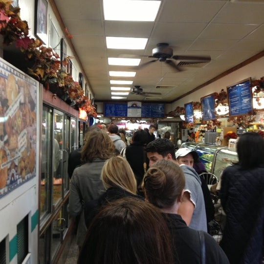 Photo taken at H&H Midtown Bagels East by Matt S. on 10/28/2012