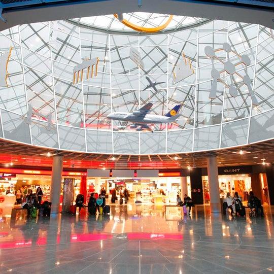 Airport In Frankfurt Am Main