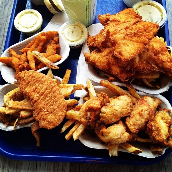 Spud fish chips south juanita 21 tips for Spuds fish and chips