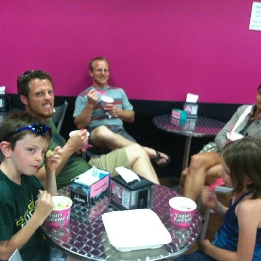 Photo taken at Yogurt Extreme by Ally L. on 7/22/2012