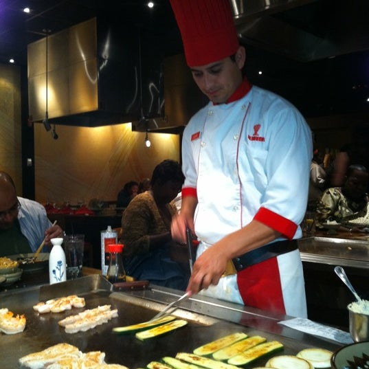 Photo taken at Benihana by Jessica G. on 4/14/2012