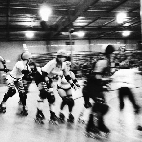 Photo taken at Doll Factory (L.A. Derby Dolls) by Lionel C. on 2/10/2013