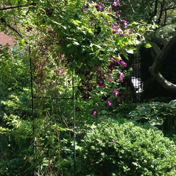 Photo taken at The Garden at St. Luke in the Fields by Joanna B. on 6/9/2013