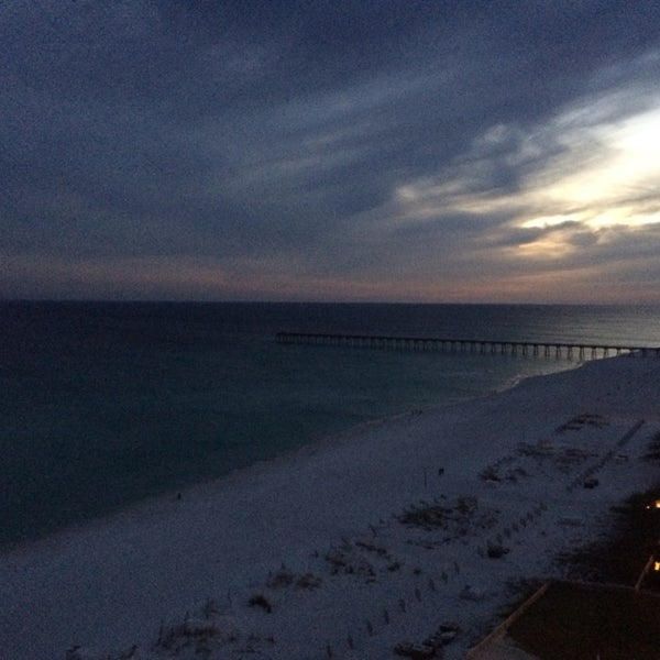 Photo taken at Hilton Pensacola Beach Gulf Front by Eric B. on 12/26/2013