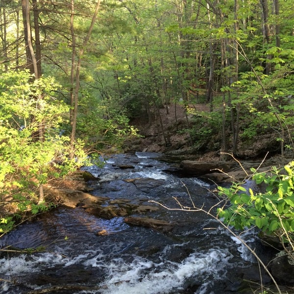 Photo taken at Jewell Falls by Julie W. on 5/21/2014