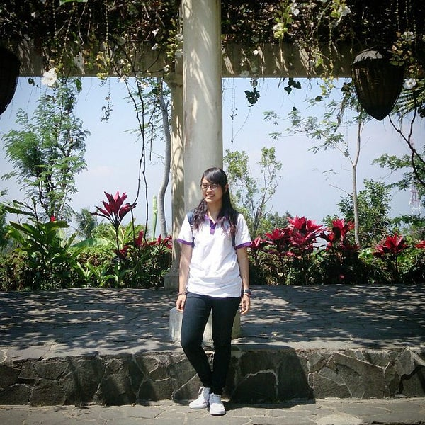 Photo taken at Gua Maria Kerep by Oca R. on 8/29/2015