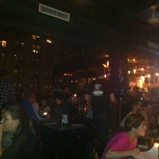 Photo taken at The Heights Bar & Grill by Stephanie B. on 10/5/2012