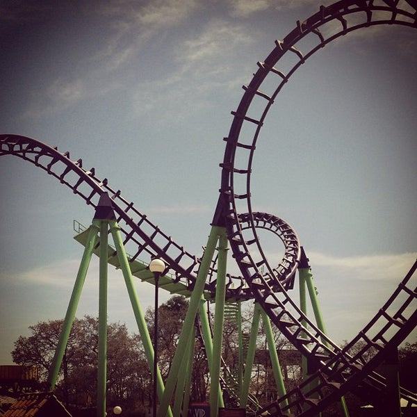 Photo taken at Six Flags México by Xavier R. on 2/24/2013