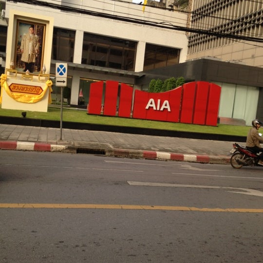 Photo taken at AIA Tower by Neung ScrambleHalloween R. on 12/3/2012