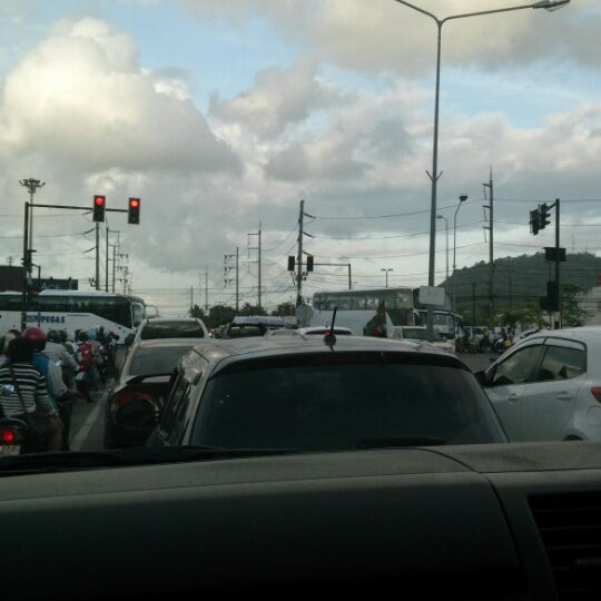 Photo taken at แยกโลตัสภูเก็ต (Lotus Intersection) by James S. on 9/24/2013