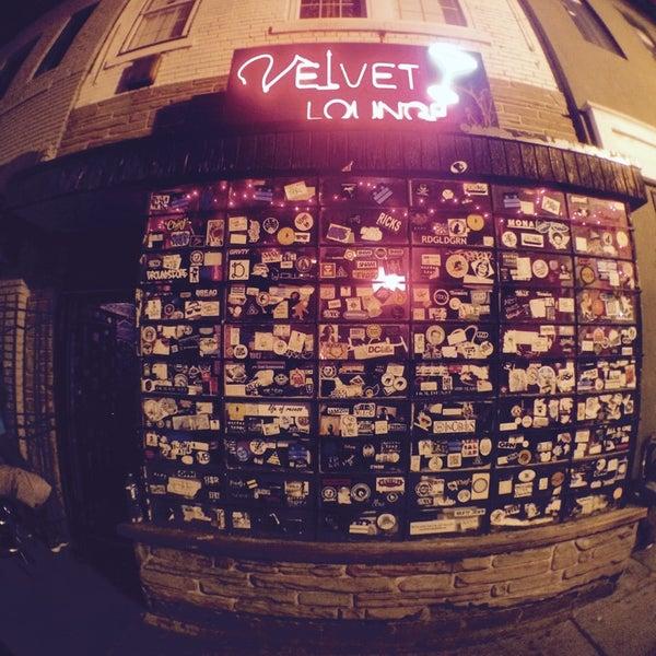 Photo taken at Velvet Lounge by Mat T. on 10/3/2014