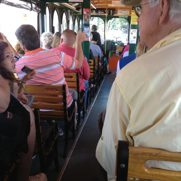 Photo taken at Old Town Trolley Tour by April B. on 6/19/2013