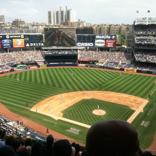 Photo taken at Yankee Stadium by Andy S. on 7/13/2013
