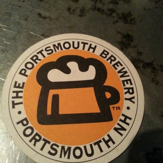 Photo taken at Portsmouth Brewery by Heidi on 1/20/2013