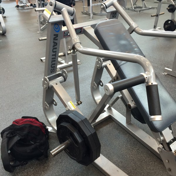 Photo taken at LA Fitness by Randall C. on 2/16/2015