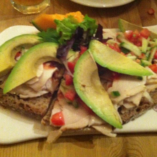 Photo taken at Le Pain Quotidien by Alison G. on 10/4/2012