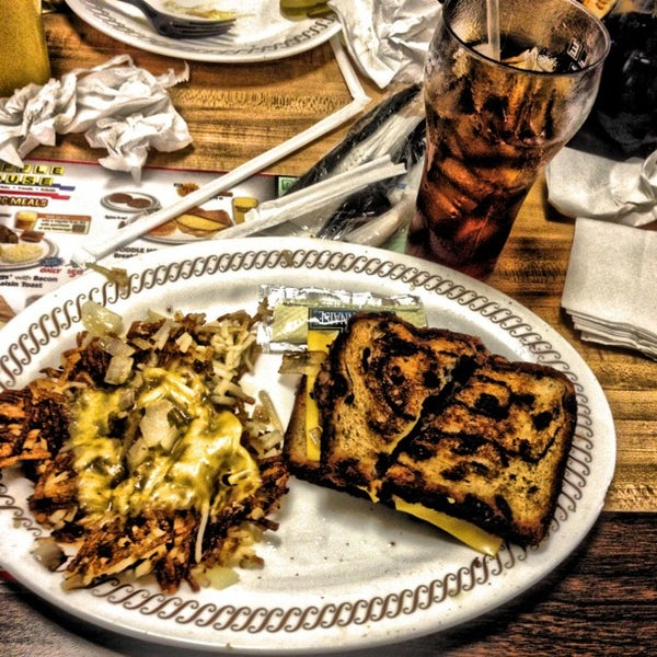 Photo taken at Waffle House by Ken P. on 11/24/2012