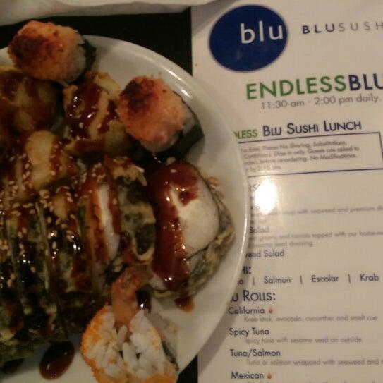 Photo taken at Blu Sushi by Tim W. on 9/30/2014