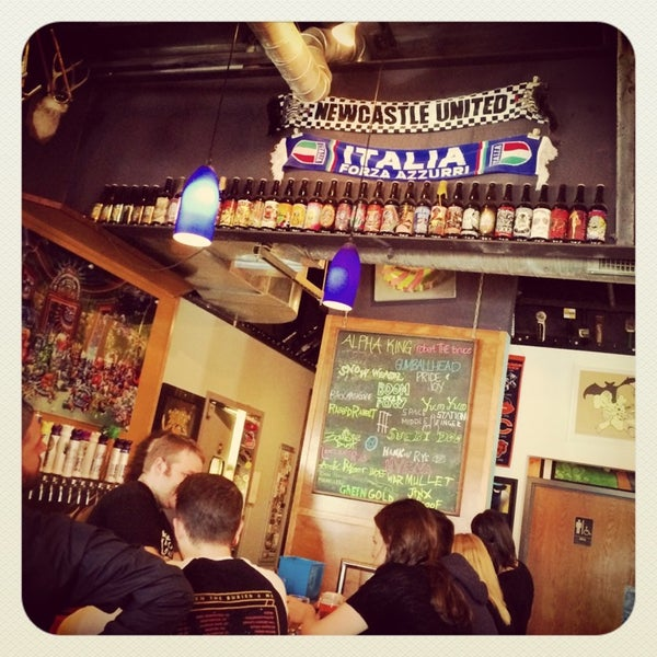 Photo taken at Three Floyds Brewery & Pub by Pocket S. on 4/21/2014
