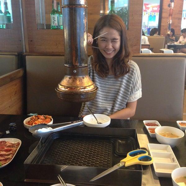 Photo taken at Kimju (คิมจู) by Sasithorn P. on 3/12/2015