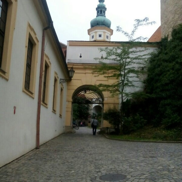 Photo taken at Zámek Mikulov by Barbora B. on 8/25/2015