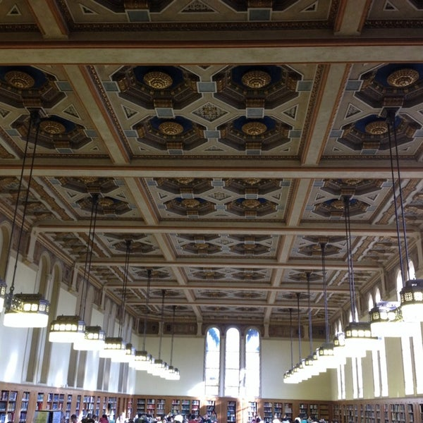 Photo taken at Doheny Memorial Library (DML) by Alan C. on 11/3/2013