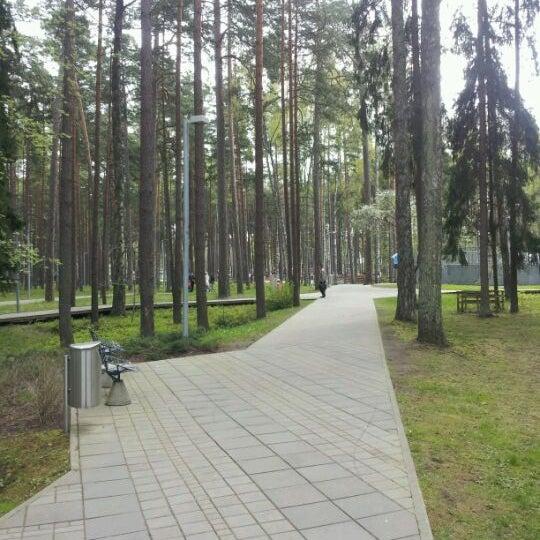 Photo taken at Dzintaru Mežaparks by Mareks K. on 5/6/2012