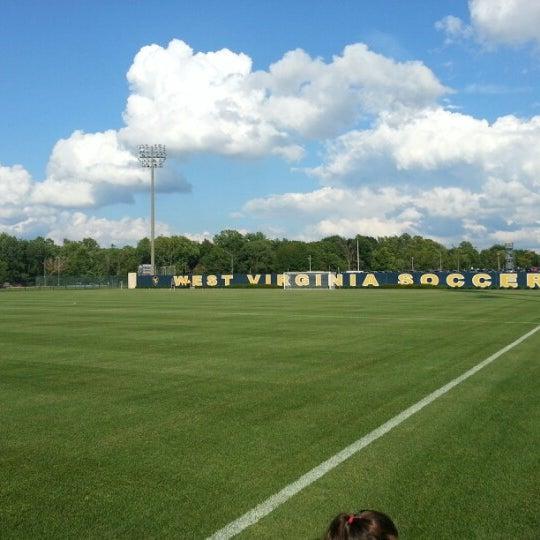 Photo taken at Dick Dlesk Soccer Stadium by John W. on 8/10/2012